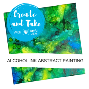 Alcohol Ink Abstract Painting Class